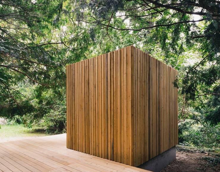 Wooden houses by JAN RÖSLER ARCHITEKTEN