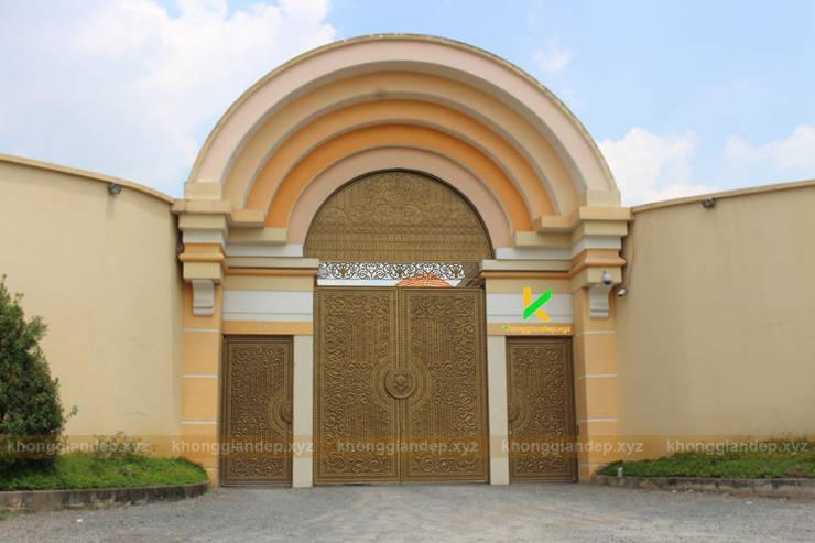 Thiết Kế kiến trúc cổng:   by Không Gian Đẹp XYZ