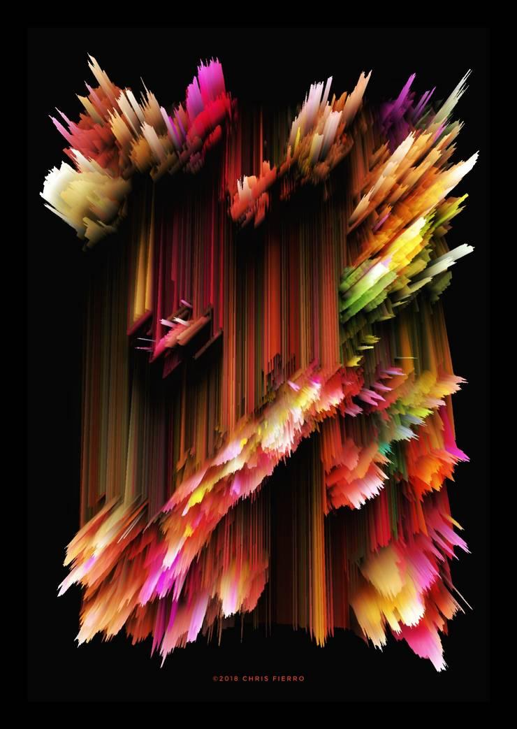 """Break the rules"": Arte de estilo  por Chris Fierro Arte Visual"
