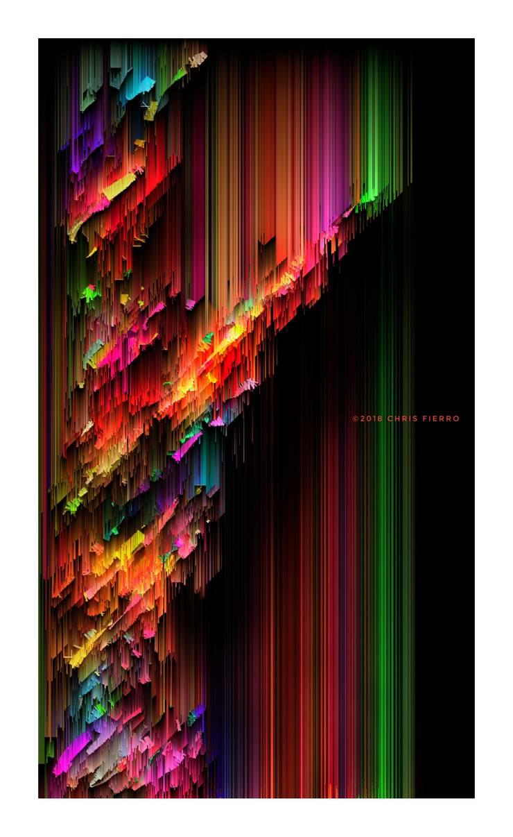 """Vertical+diagonal"": Arte de estilo  por Chris Fierro Arte Visual"