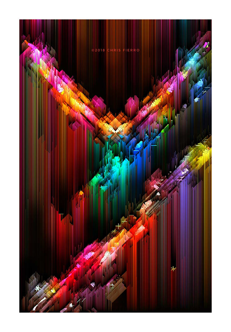 """""""Ciudad_2"""": Arte de estilo  por Chris Fierro Arte Visual"""
