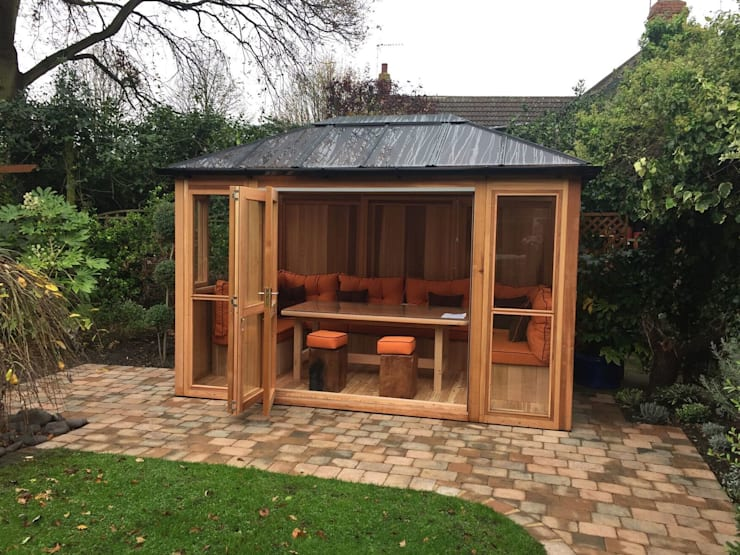 Outdoor Garden Rooms:  Garden by Garden Furniture Centre