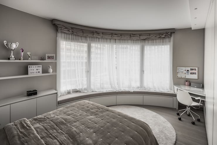 Chambre de style  par studiodonizelli, Moderne
