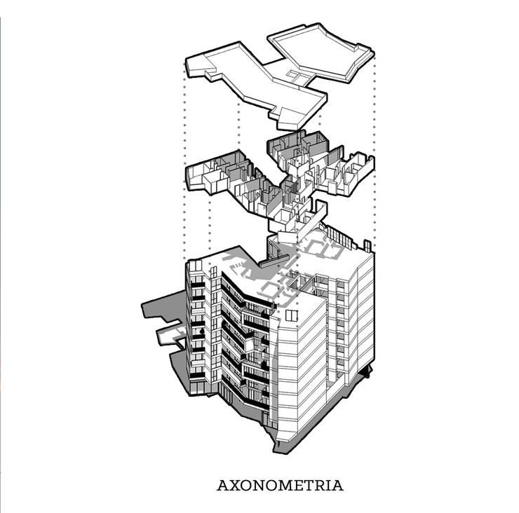 AXONOMETRA RESERVAS ALTOS DE SANTA HELENA:  de estilo  por 365 Estudio