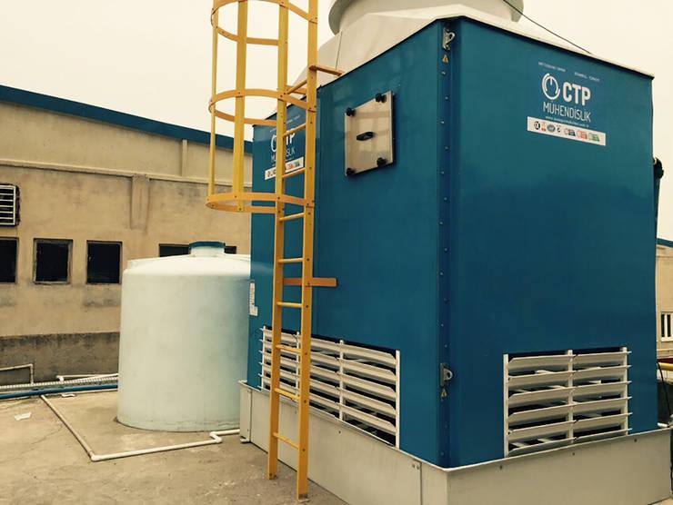 Bathroom by Su soğutma kulesi CTP Mühendislik