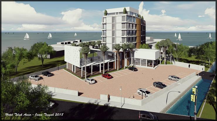 Hotel Jepara:   by SARAGA Studio Arsitektur