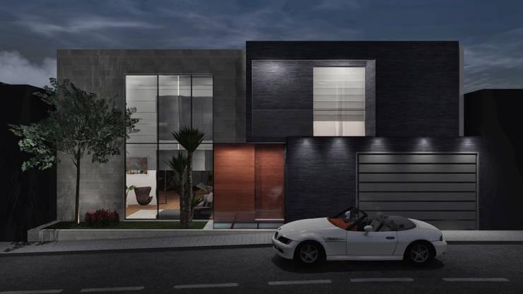 CASA ILO 2018 Casas de estilo minimalista de TECTONICA STUDIO SAC Minimalista