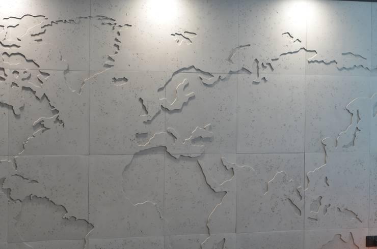 в современный. Автор – Loft Design System Deutschland - Wandpaneele aus Bayern, Модерн