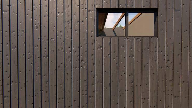 Zoom de materialidad en las paredes: Paredes de estilo  por Tila Design,