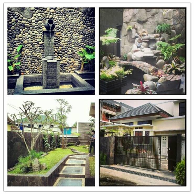 Rumah Tinggal Jl. Anyer Bandung:   by SARAGA Studio Arsitektur