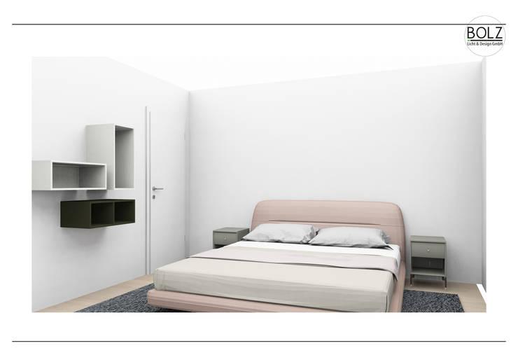 Schlafzimmer:  Schlafzimmer von Bolz Licht & Wohnen