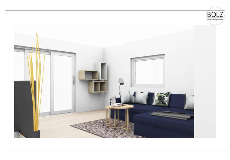 Wohnzimmer:  Wohnzimmer von Bolz Licht & Wohnen