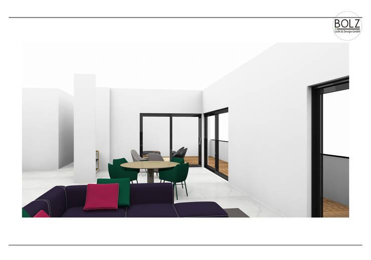 Living room by Bolz Licht und Wohnen · 1946