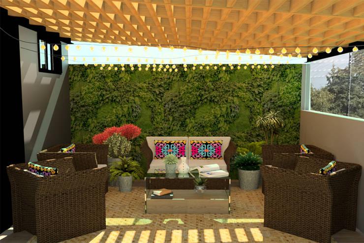 Terrazas peque as ideas para su decoraci n - Decoracion terrazas pequenas ...