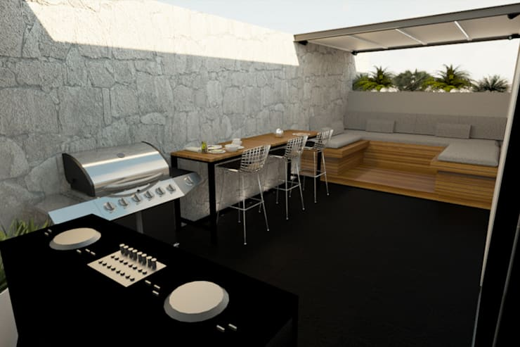 Terrazas de estilo  por eleganty