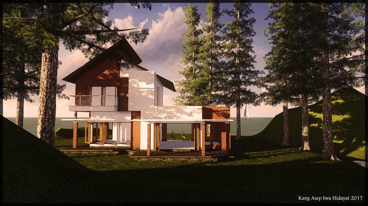 Pangandaran Jawa Barat:   by SARAGA Studio Arsitektur