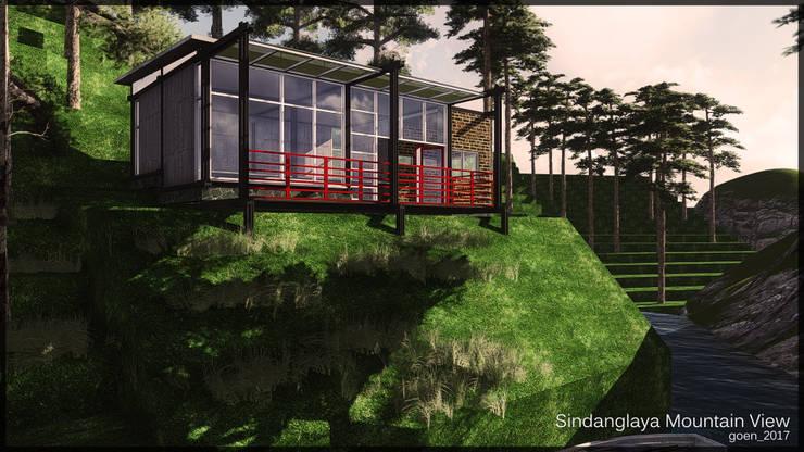 Sindanglaya Bandung:   by SARAGA Studio Arsitektur