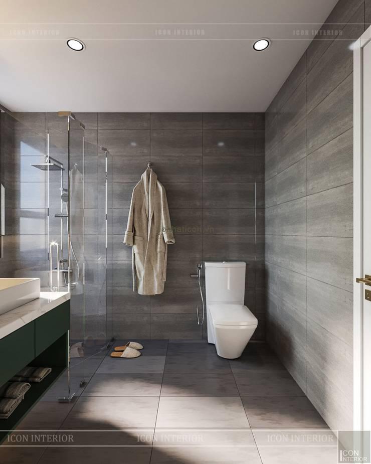 THIẾT KẾ CĂN HỘ CAO CẤP WILTON TOWER – Đẹp thanh lịch trong từng đường nét:  Phòng tắm by ICON INTERIOR