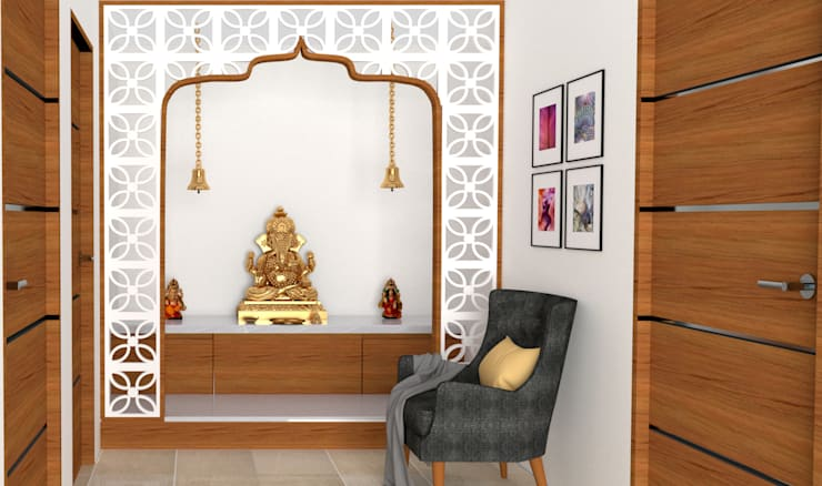 Tips To Design Pooja Rooms In Small Spaces