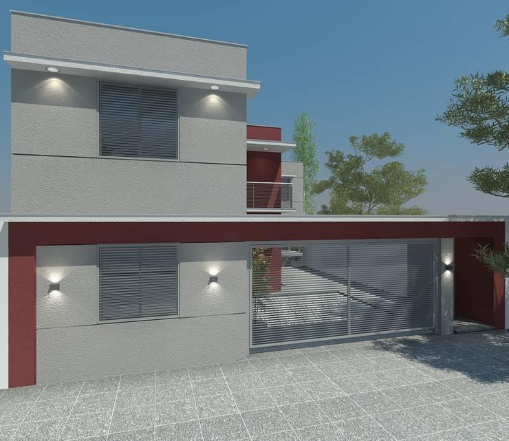Complejo Habitacional – Lujàn de Cuyo.: Condominios de estilo  por Agustín Reyes - Zoom Arquitectura.,
