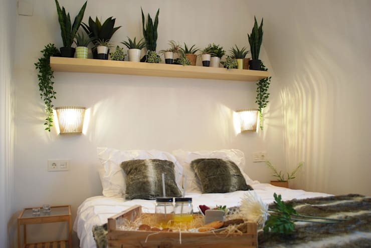 Dormitorio principal:  de estilo  de Home Staging Bizkaia