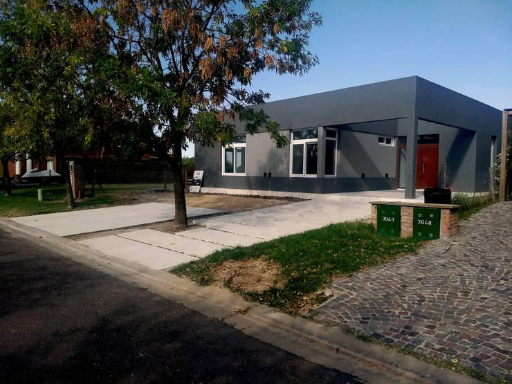 Final de Obra - Frente: Casas de estilo  por KorteSa arquitectura,