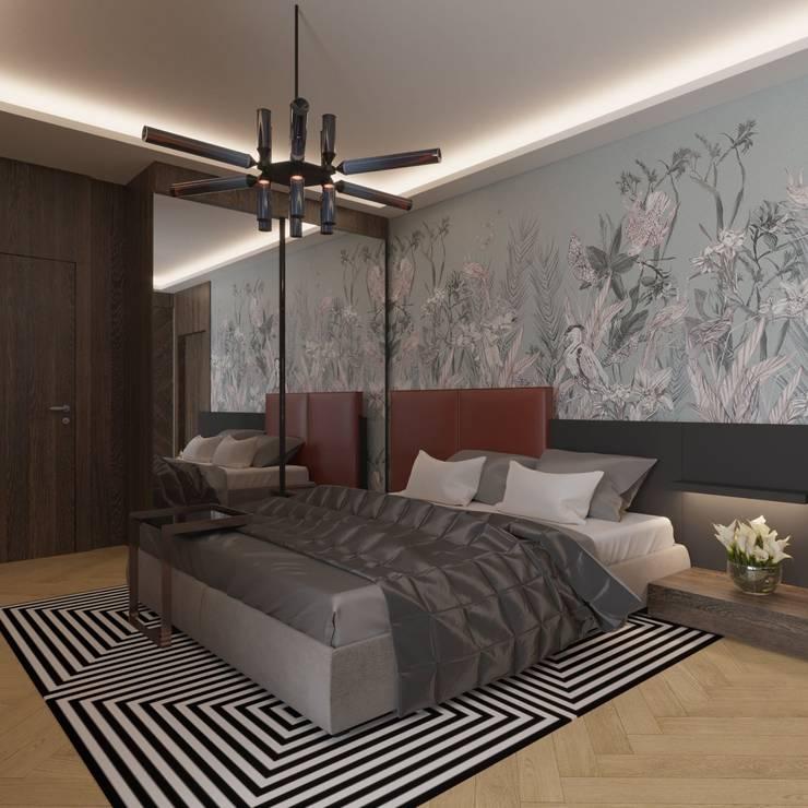 Nuevo Tasarım – Ankara Park Vadi Ev Projesi: modern tarz Yatak Odası