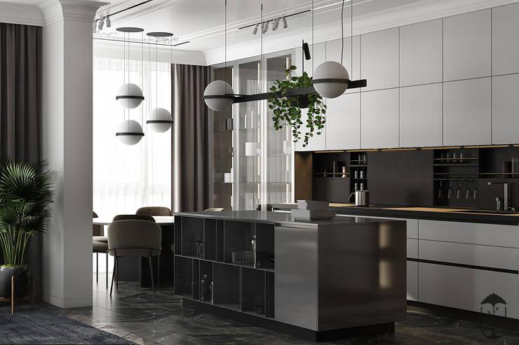Cocinas de estilo minimalista de U-Style design studio Minimalista