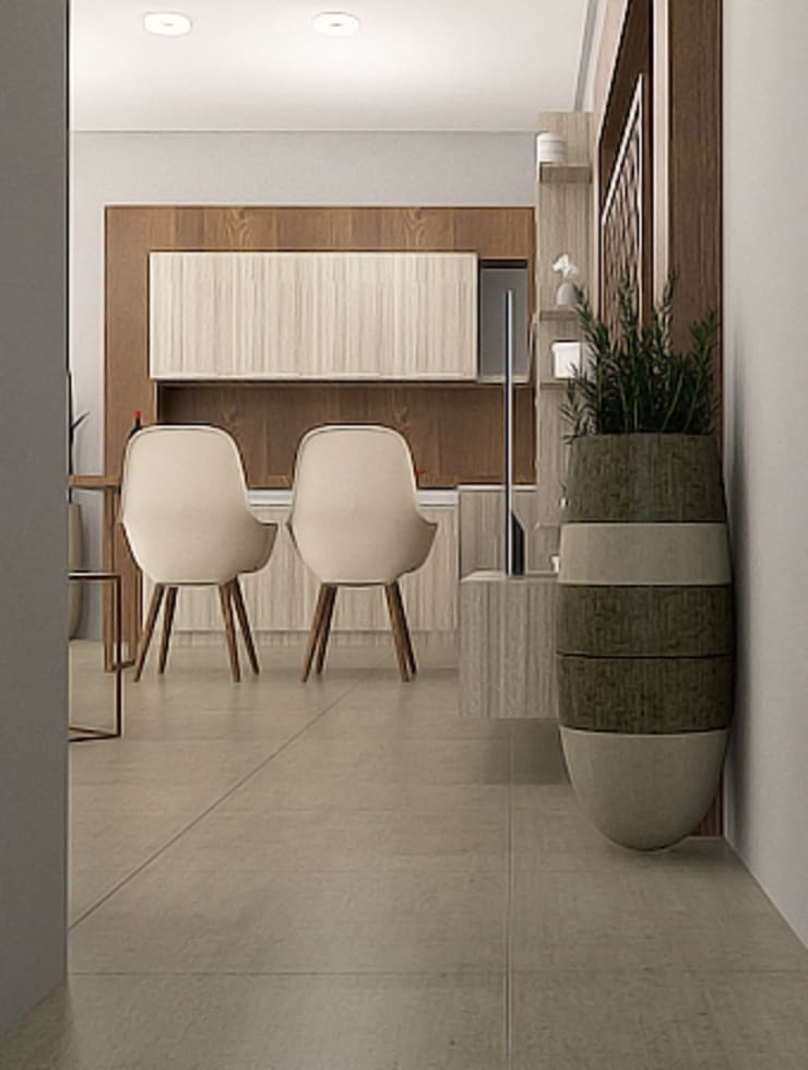 Interior Mandala Residence:   by SARAGA Studio Arsitektur