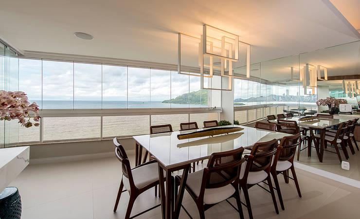 Dining room by Espaço do Traço arquitetura