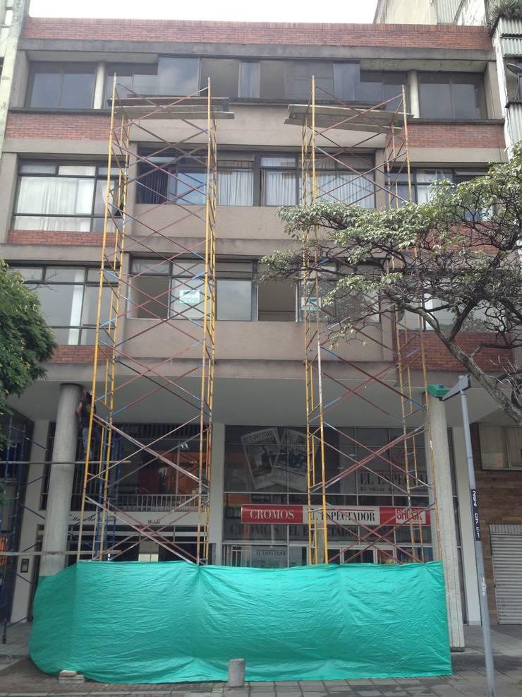 EDIFICIO Ma. DEL CARMEN:  de estilo  por GAGC arquitecto