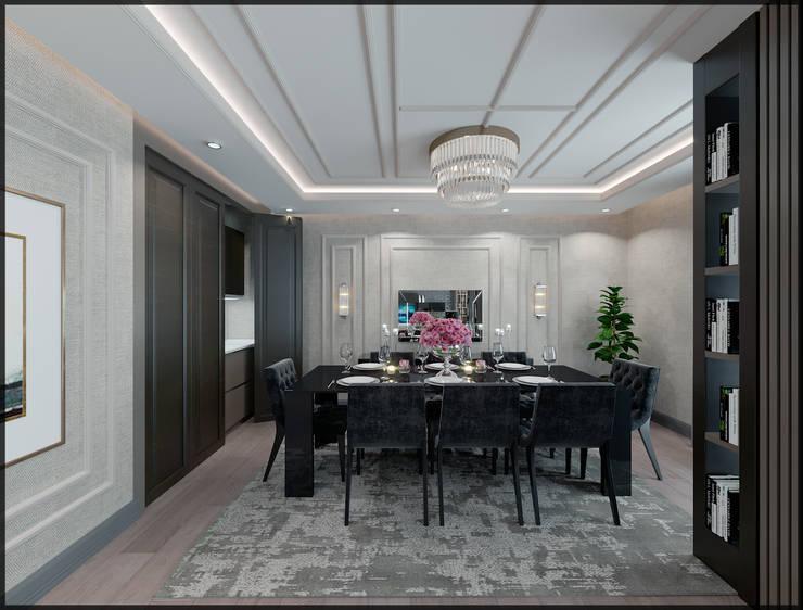 Nuevo Tasarım – Ankara Çay yolu Duru Irmak Sitesi Projesi: modern tarz Oturma Odası