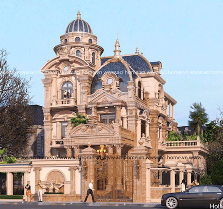 Thiết kế lâu đài:   by Công ty thiết kế biệt thự đẹp VAG