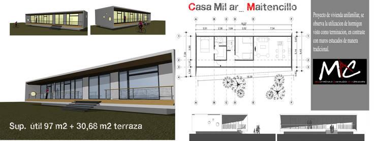 Casa Milar_ Maitencillo:  de estilo  por MAC SPA