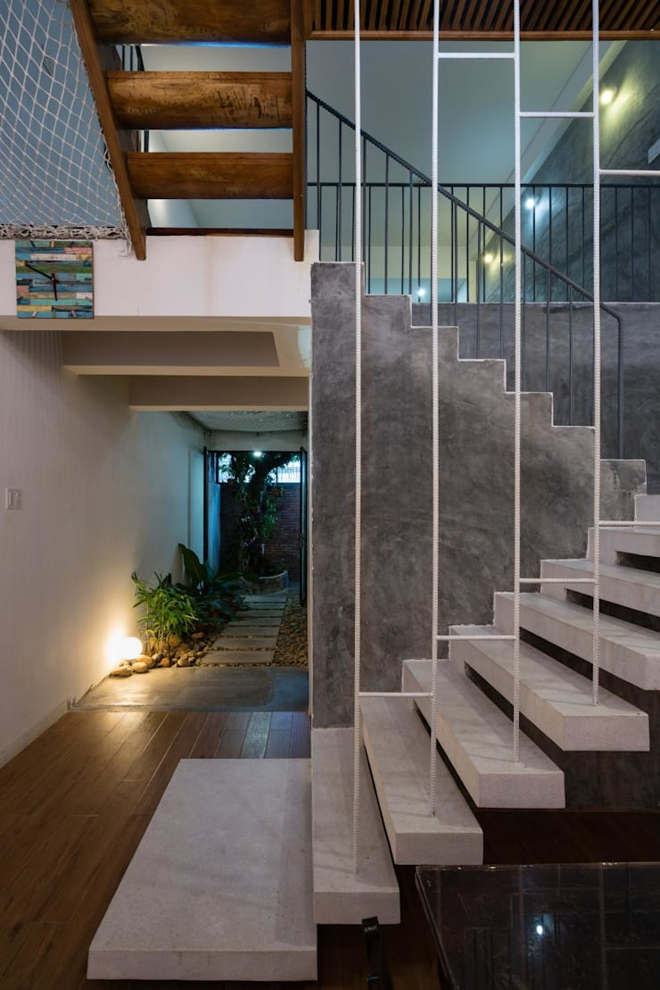 Hành lang by Công ty thiết kế xây dựng Song Phát