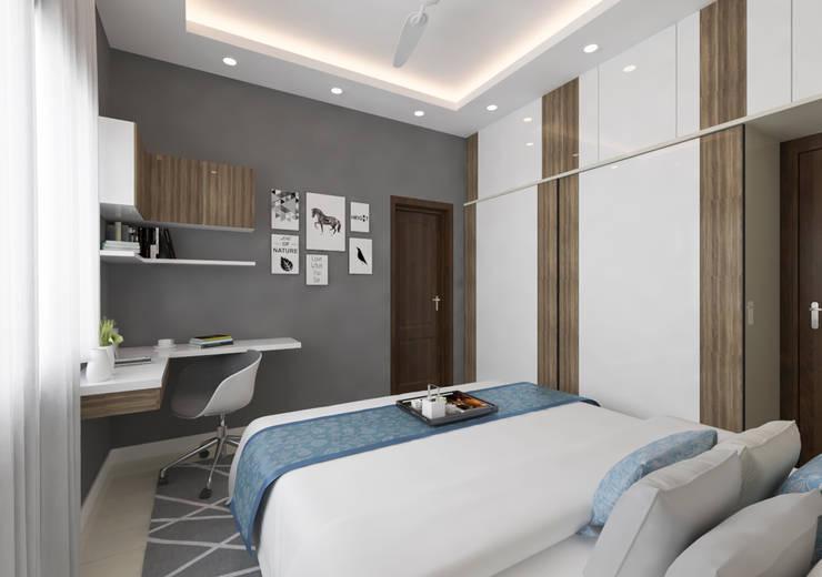 Bedroom by Samanta's Studio