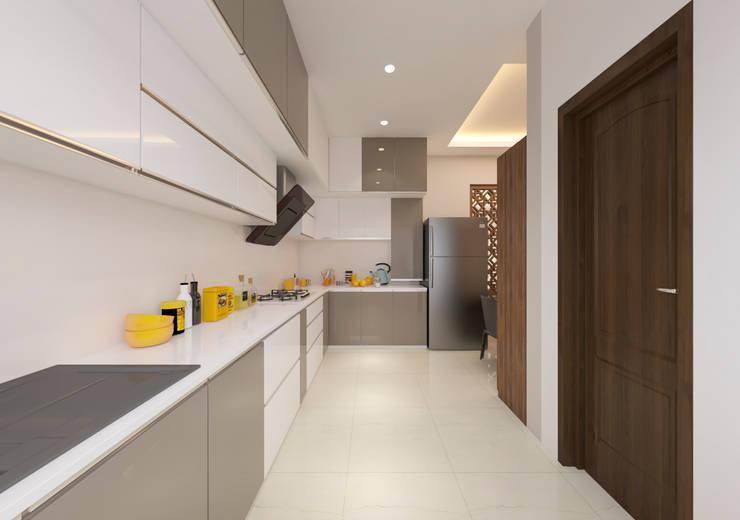 Kitchen:  Kitchen units by Samanta's Studio