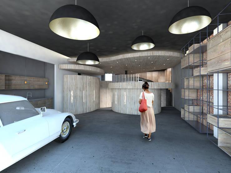 Welness sauna:   door Archstudio Architecten | Villa's en interieur