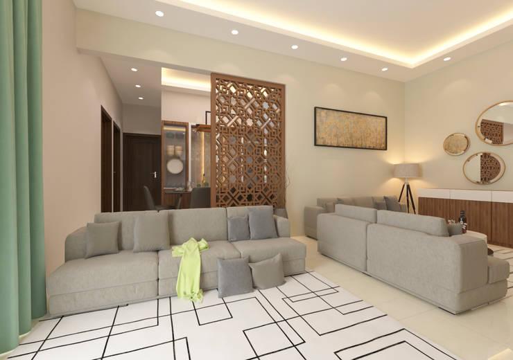 Living room by Samanta's Studio