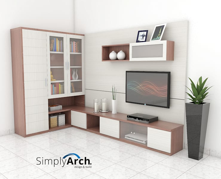 Living room by Simply Arch.