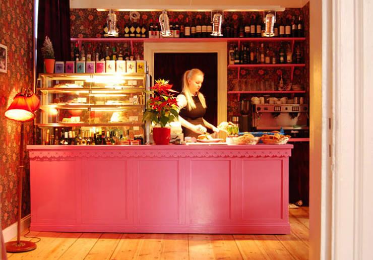 Restoran oleh Baltic Design Shop, Skandinavia Kayu Wood effect