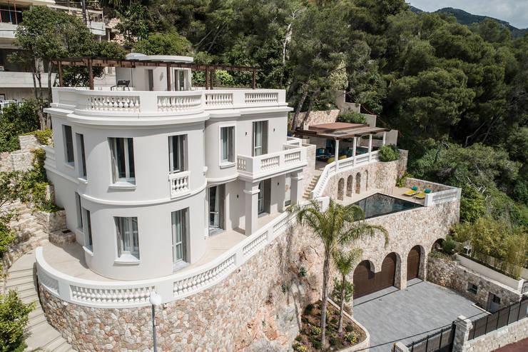 Picturesque Art Deco. Interior design of a villa In Monte-Carlo ...