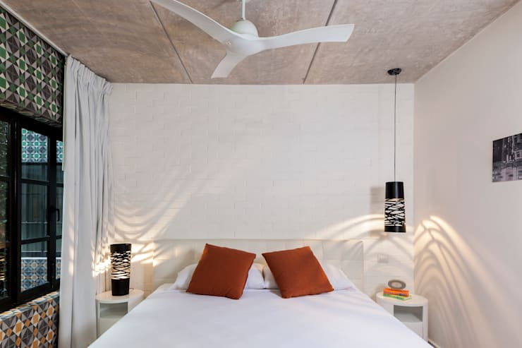 Cuartos de estilo  por studio arquitectura | Despacho de arquitectos | Cancún