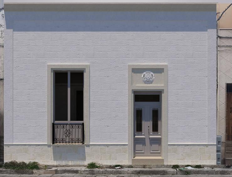 Apulia House AA: Case in stile in stile Rustico di De Vivo Home Design