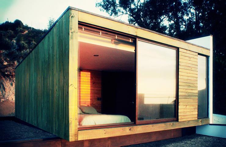 Casa Pazols: Casas de estilo  por m2 estudio arquitectos - Santiago