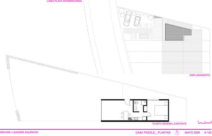 Casa Pazols:  de estilo  por m2 estudio arquitectos - Santiago