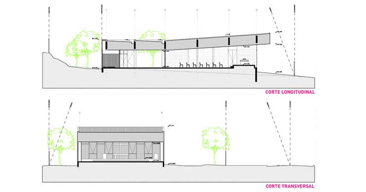 Capilla Nuestra Señora de Fátima:  de estilo  por m2 estudio arquitectos - Santiago