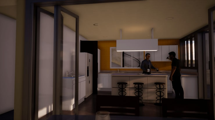 Built-in kitchens by BIM Urbano,