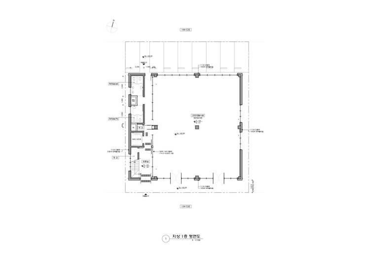 반석동 복합빌딩: 위 종합건축사사무소의  ,