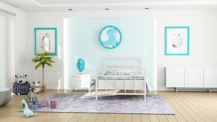 Atölye Teta – Alp Çocuk Odası:  tarz Erkek çocuk yatak odası